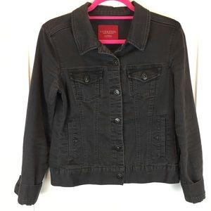 Liverpool Baby's In Black Denim Jean Jacket XS